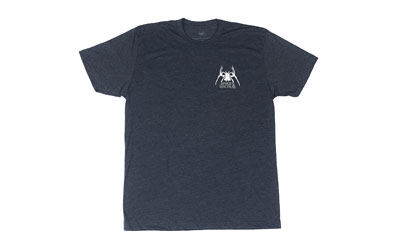 Spike's Tactical Tactical Spider Spikes Tactical Tee Shirt, Large, Navy SGT1076-L