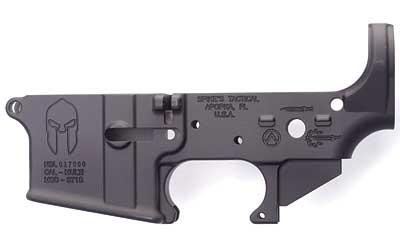 Spikes STLS021 Stripped Lower Spartan AR-15 Multi-Caliber Black