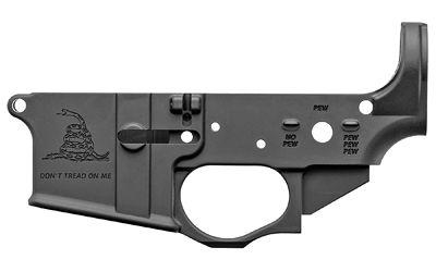Spike's Tactical STLS034 Gadsden Logo, Stripped Lower, Semi-auto, 223 Rem/556NATO, STLS034