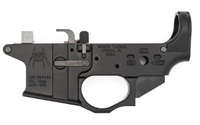 Spike's Tactical STLS910 9mm Colt Style Lower w/Spider Logo, Semi-auto, STLS910