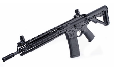 Spikes STR5525M2D Crusader with M-LOK Semi-Automatic 223 Remington|5.56 NATO 14.5 No Magazine Magpul CTR Black Stk Black Hard Coat Anodized in.