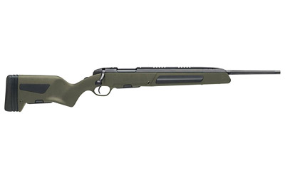 Steyr 26.046.3E Scout Bolt 223 Remington|5.56 NATO 19 FB 5+1 Synthetic Green Stk Black in.
