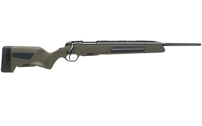Steyr 26.346.3E Scout Bolt 308 Winchester|7.62 NATO 19 FB 5+1 Synthetic Green Stk Black in.