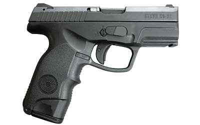 Steyr 39.921.2K C9-A1 Double 9mm 3.6 17+1 Black Polymer Grip in.