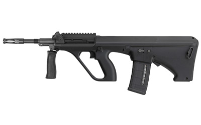 Steyr AUGM1BLKNATOS AUG A3 M1 NATO Semi-Automatic 223 Remington|5.56 NATO 16 30+1 Short Rail Synthetic Black Stk Black in.