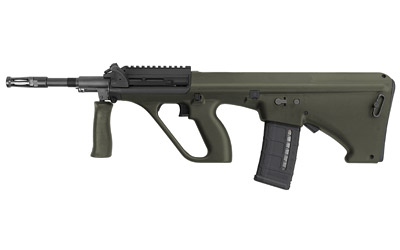 Steyr AUGM1GRNNATOS AUG A3 M1 NATO Semi-Automatic 223 Remington|5.56 NATO 16 30+1 Short Rail Synthetic Green Stk Black in.