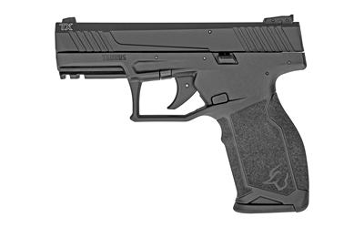 Taurus 1TX22241 TX22 22 LR 4.10in. TB 16+1 Black Anodized Aluminum Slide Ergonomic Black Polymer Grip