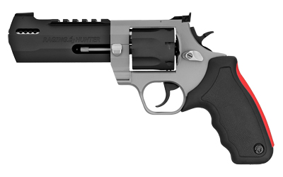 Taurus 2357055RH Raging Hunter Revolver Single/Double 357 Magnum 5.13in. 7 Round Black Rubber Cushion Insert Grip Stainless