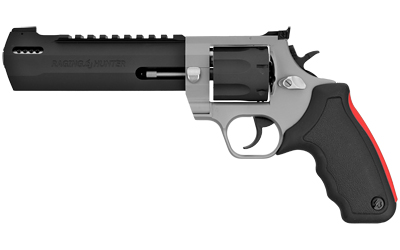 """Taurus 2357065RH Raging Hunter Revolver Single/Double 357 Magnum/38 Special 6.75"""" 7 Rd Black Rubber Cushion Insert Grip Stainless"""