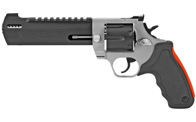 "Taurus 2440065RH Raging Hunter  Revolver Single/Double 44 Remington Magnum 6.75"" 6 Rd Black Rubber Cushion Insert Grip Stainless"