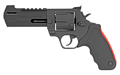 Taurus 2454051RH Raging Hunter 454 Casull 5 Round 5.13in. Black Aluminum Black Rubber Cushion Insert Grip