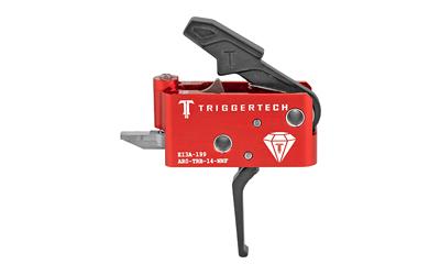 TriggerTech Diamond AR Black Two-Stage Flat Trigger AR-15, LR-308