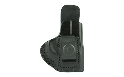 Tagua IPH1010 Inside The Pant S&W M&P Shield Saddle Leather Black