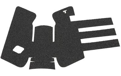 Talon 103R Adhesive Grip Glock 17|22|24|31|34|35|37 Gen3|2|1 Textured Rubber Black
