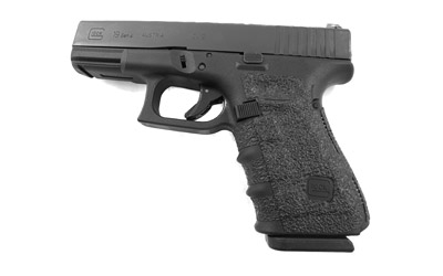 Talon 110R Adhesive Grip Glock 19|23|25|32|38 Gen4 Textured Rubber Black