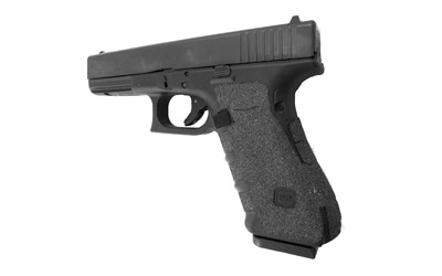 Talon 113G Adhesive Grip Glock 17|22|24|31|34|35|37 Gen4 Aggressive Textured Granulate Black