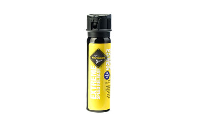 Tornado Personal Defense Extreme Pepper Spray, 80gm, w/UV Dye, Black TX0095
