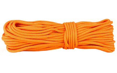 UST - Ultimate Survival Technologies Paracord, 50 feet, 350lb Test, 100% Nylon, Orange 20-3X50-35