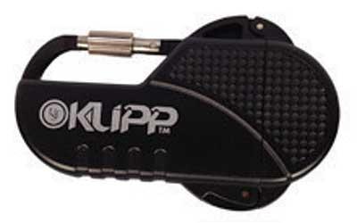 UST - Ultimate Survival Technologies Klipp Lighter, Windproof, Black 20-W15-01