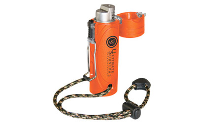 UST - Ultimate Survival Technologies Trekker Stormproof Lighter, Orange Finish 21-W03-005