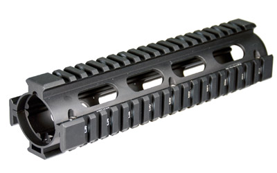 Leapers, Inc. - UTG PRO AR 9 in.  308 STYLE QUAD RAIL BK