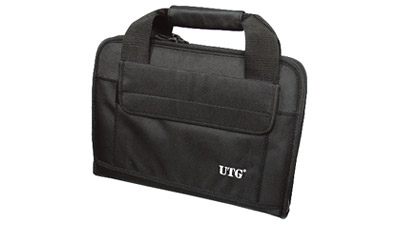 Leapers Inc. UTG Deluxe Double Pistol Case, Black