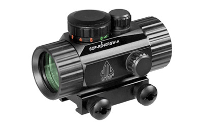Leapers Inc. UTG 3.8 in.  R/G Dot Sight w/Integral Mount