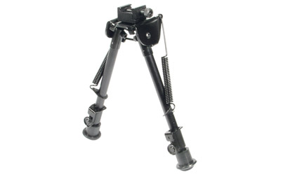 Leapers Inc. Rubber Feet Bipod,Height 8.3 in. -12.7 in.