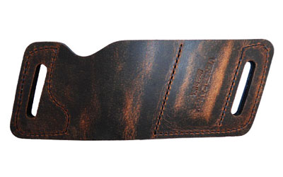 Versacarry WB380AMB2 QuickSlide with Mag Pouch  22|25 Autos, Very Small Frame 380s Water Buffalo Brown