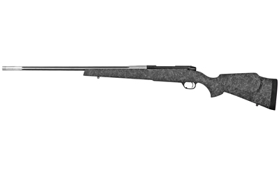 "Weatherby MAM01N65RWR6B Mark V Accumark 6.5 Wthby RPM 4+1 24"" Graphite Black Receiver Spun Stainless Fixed Monte Carlo Stock Right Hand"