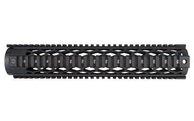 Yankee Hill 9635DX Diamond Series Forearm 12.6 AR-15 Aluminum Black in.