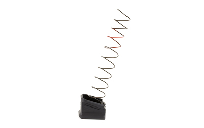 ZEV BPADEXTGLK5B Glock  compatible Base Pad 9mm Luger 17+5  Aluminum Black Finish