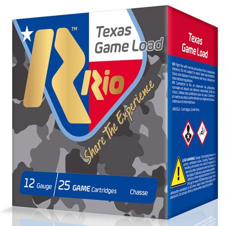 Rio Ammo Tg3675Tx Top Game Texas Game Load Standar