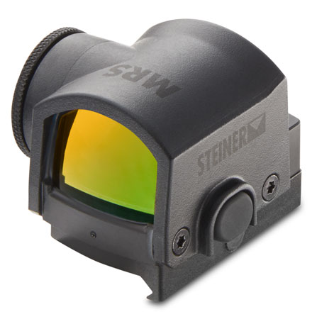 Steiner 8700 Micro  1x 21x15mm Obj 3 MOA Illuminated 3 MOA Red Dot Black CR1632 Lithium