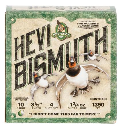 Hevishot 15504 Hevi-Bismuth Waterfowl 10 Gauge 3.50