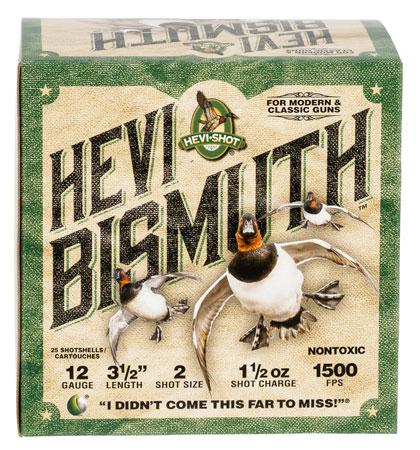 Hevishot 14502 Hevi-Bismuth Waterfowl 12 Ga 3.50