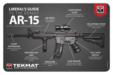 TekMat TEKR17AR15MEDIA Original Cleaning Mat Liberal's Guide to the AR-15 11