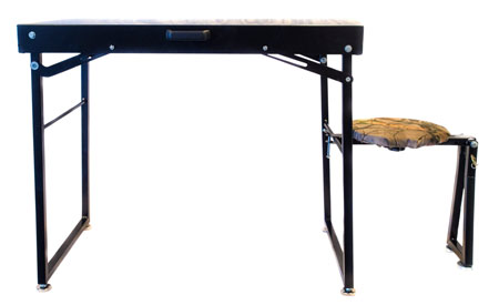 BenchMaster Mark Thompson Long Range Shooting Table w/ Chair 36
