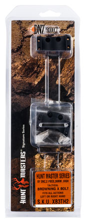 DNZ XB3TH2 Hunt Masters Browning X-Bolt 30mm High 2-Piece Matte Black