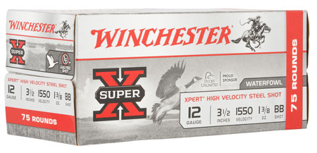 Winchester Ammo WEX12LBBVP Super X Xpert High Velocity 12 Ga 3.50