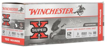 Winchester Ammo WEX123BVP Super X Xpert High Velocity Steel Shot 12 Ga 3