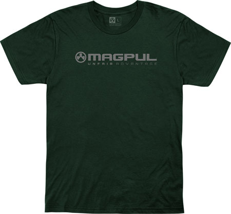 Magpul MAG1114-301-M Unfair Advantage Forest Green Medium Short Sleeve