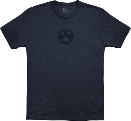 Magpul MAG1115-411-S Megablend Icon Shirt Small Navy Heather