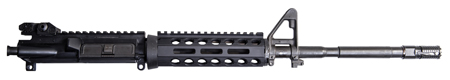 Troy Ind SRAIDA112BT0 Battle Rail AR-15|M16|M4 Aluminum Blk