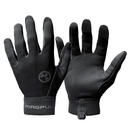 Magpul MAG1014-001 Technical Glove 2.0 Medium Black Synthetic/Suede Touchscreen