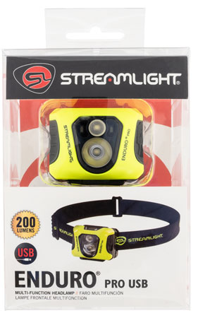 Streamlight 61435 Enduro Pro UBS Headlamp Yellow