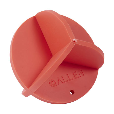 Allen 15461 Holey Roller Rimfire/High Power Rifles or Handguns Polymer Ball Orange