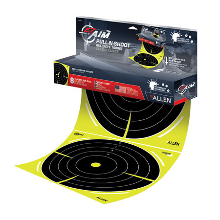 Allen 15256 EZ Aim Pull-N-Shoot Paper 12