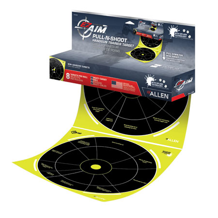 Allen 15258 EZ Aim Pull-N-Shoot Splash Paper 12