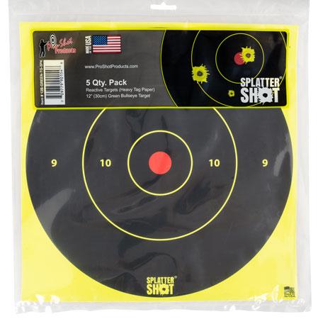 Pro-Shot 12B-GREEN-TG-5PK SplatterShot Adhesive Paper 12